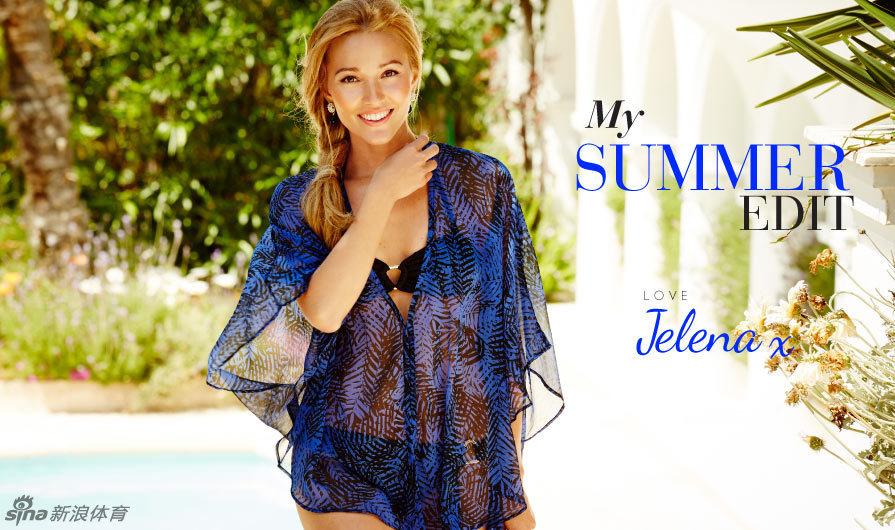 在摩纳哥灿烂的女友下,德约科维奇阳光叶莲娜喜爱各种最身着的美女拍的夏装身材视频百度图片
