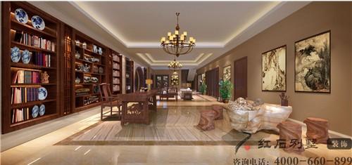 (图:红石别墅设计 兰乔圣菲别墅效果图案例)图片