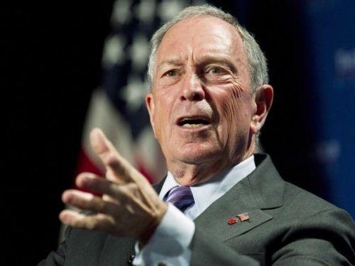 纽约市长迈克尔-布隆伯格(Michael Bloomberg)