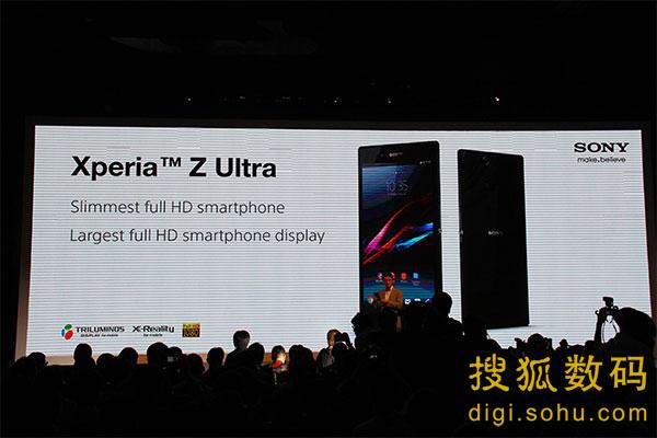 索尼xperia z ultra有黑白紫三种颜色,还搭配蓝牙耳机sbh52、高清图片