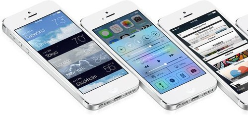 苹果发布iOS7 beta2更新(图片引自ubergizmo)