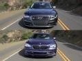 [海外评测]强者之争Audi S8 BMW Alpina B7