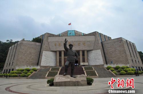 图为百色起义纪念馆 李雨昕
