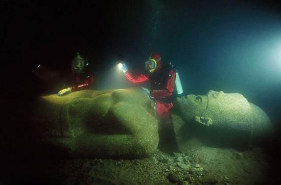伊拉克利翁已在水下沉睡千年