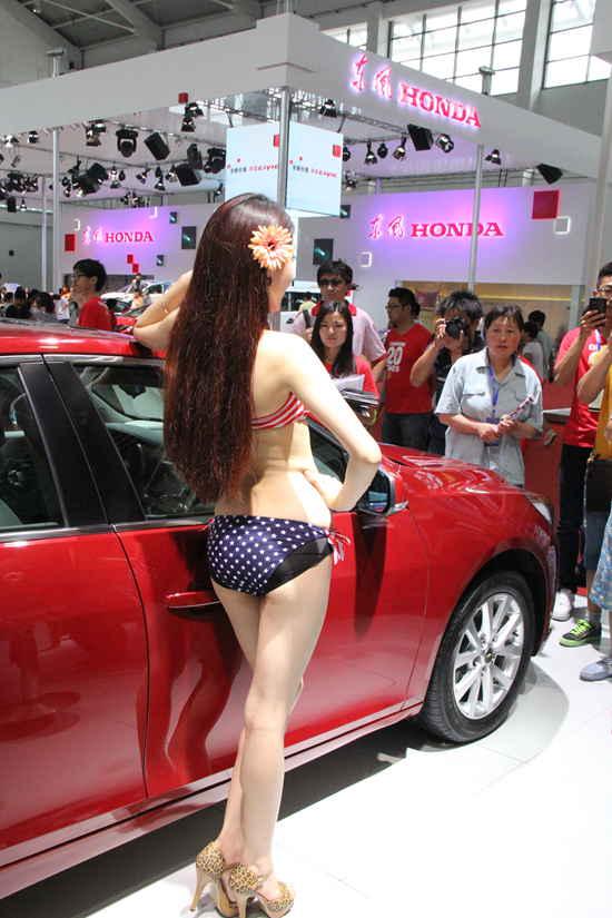 2013沈阳国际车展车模51