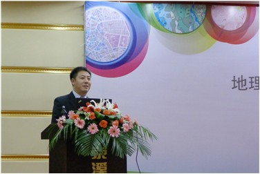 esri中国信息技术有限公司副总裁王海涛致辞