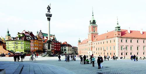 波兰华沙_波兰华沙老城 重生后依旧美丽(图)