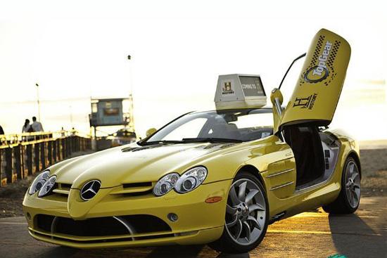 奔驰SLR McLaren 65万元