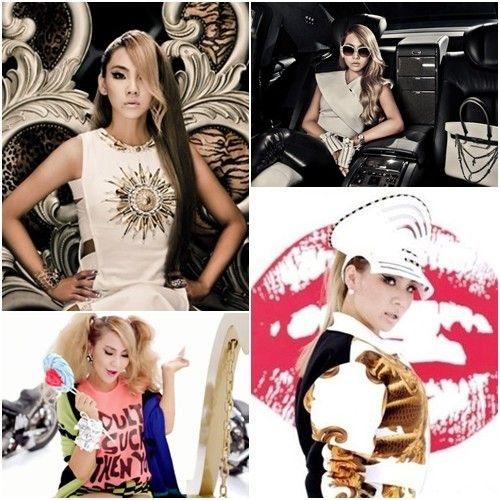 女星穿内裤献唱CL以 坏丫头 打败李孝利