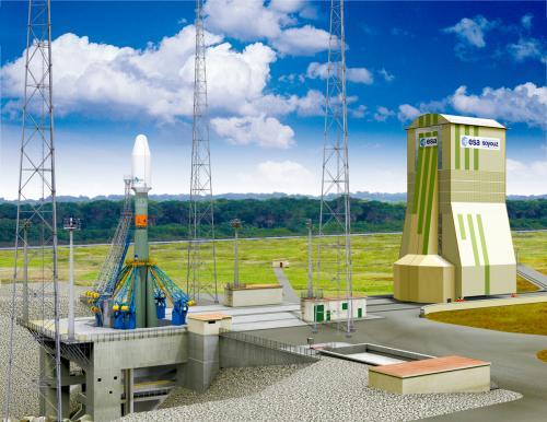 联盟火箭发射工位效果图