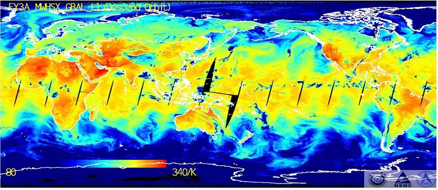 风云三号a星空间中心有效载荷成功在轨运行5周年(组图