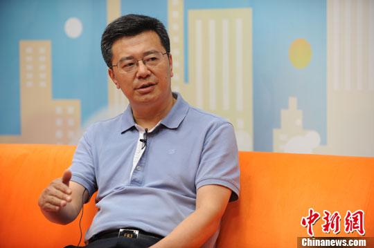中国石油大学中国油气产业发展研究中心主任董秀成 中新网 张龙云摄