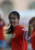 中超图:中能VS国安 青岛靓丽女球迷