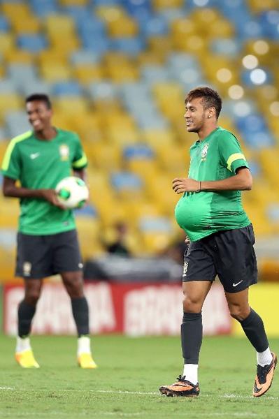 巴西队备战决赛