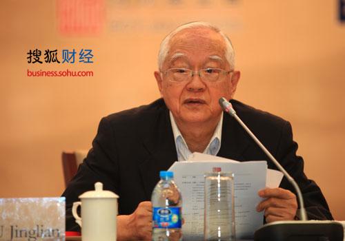 国务院发展研究中心高级研究员、博源基金会顾问委员吴敬琏(图片来源:搜狐财经)