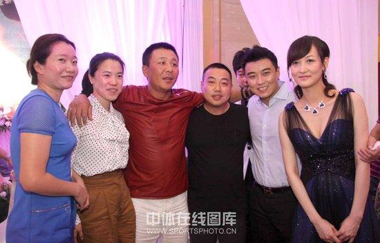 王皓 微博博客 大婚刘国梁 微博博客 任证婚人