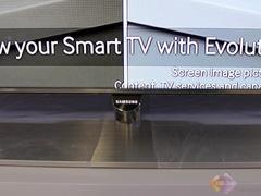 三星UA55F7500液晶电视细节实拍