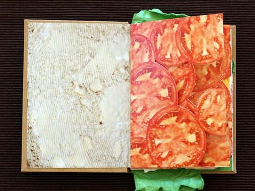 <小白菜>民歌谱-波兰设计师创作三明治书秀色可餐