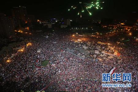 埃及近日爆发大规模抗议示威活动(资料图)