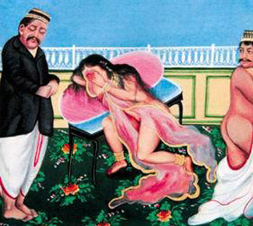 印度古代性爱绘画 激情女骑士性爱过招 搜狐女人