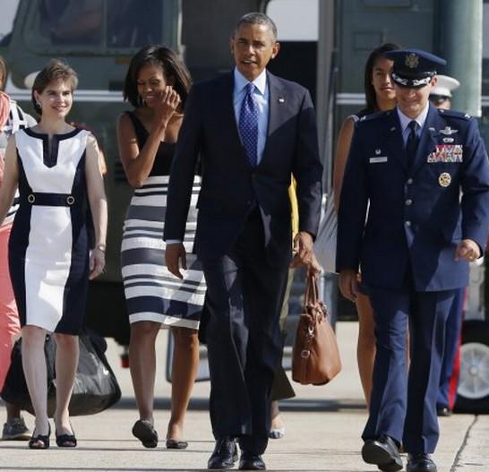美国总统奥巴马正在非洲进行访问。