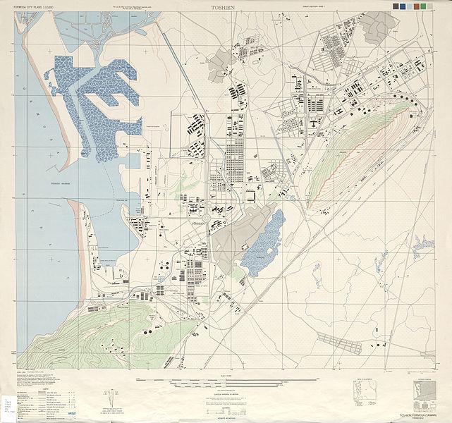台湾左营军港示意图。(图片取自网络)
