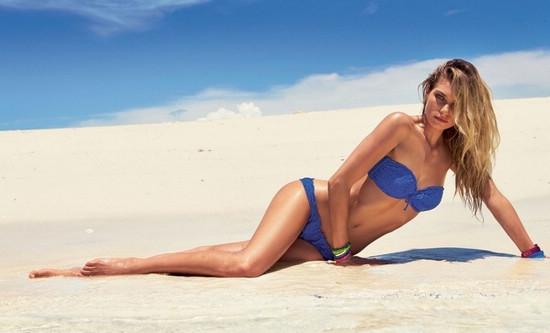 澳洲超模海滩秀性感火辣身材