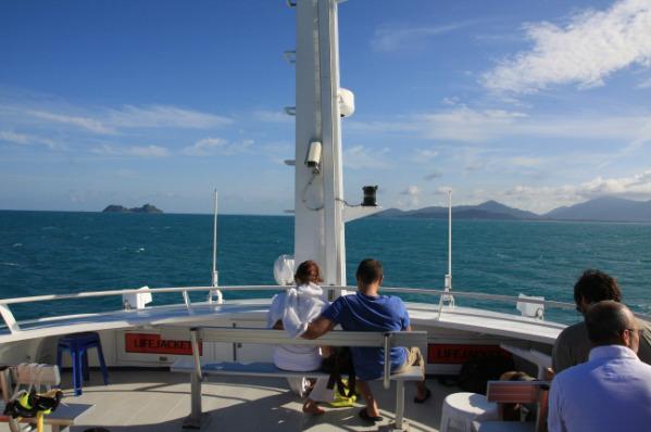 前往涛岛的渡船