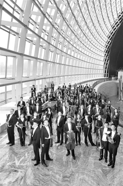 国家大剧院管弦乐团。王小京 摄