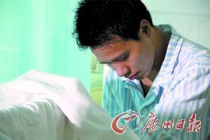 刘先生现在能否恢复生育功能还是未知数。记者高鹤涛 摄
