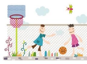 我是一个篮球小明星(图)