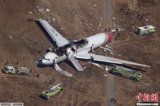 韩亚航空坠机视频_韩国波音777坠毁事故 2死者确认为中国女性(图)-搜狐滚动