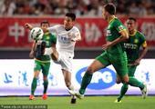 中超图:东亚0-3国安 武磊带球突破寻杀机