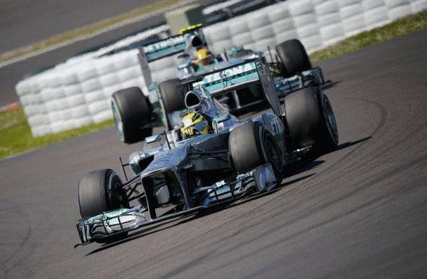 图文:[F1]德国站维特尔夺冠 车手罗斯伯格