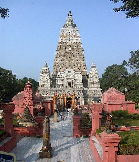 印度比哈尔邦摩诃菩提寺