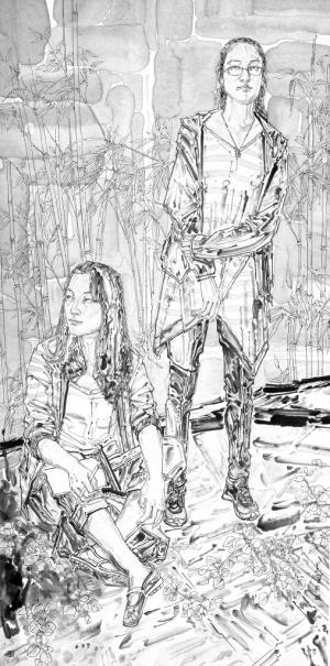 2013西安美术学院中国画系教师作品展(组图)