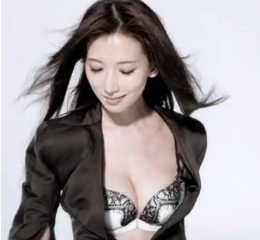 林志玲全新内衣广告秀底线 尺度大遭禁播(图)图片