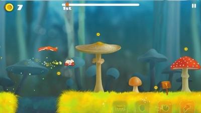 《动物赛跑》是一款以小动物为主角的竞速游戏.图片
