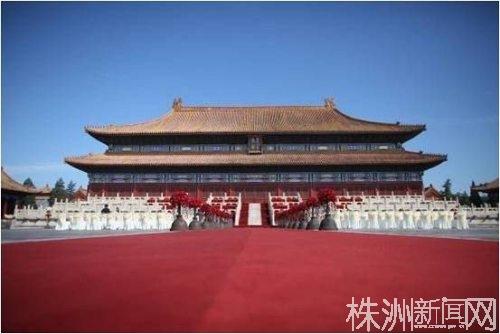 2009年叶剑英孙女在太庙举行的豪华婚礼 (1)(图