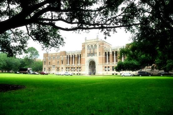 rice university校园景色