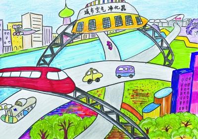 中国梦我的梦的画