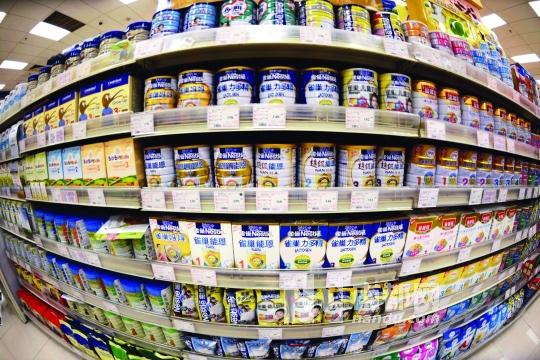8家被查洋奶粉价格集体跳水(图)