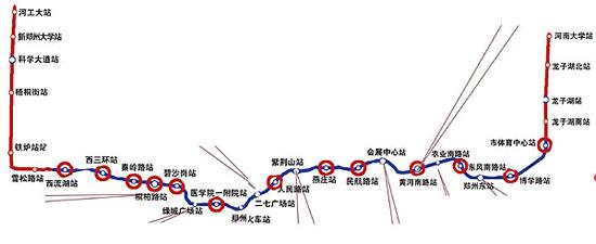 组图:郑州地铁1号线10月装修 九大站点风格各异-搜狐滚动