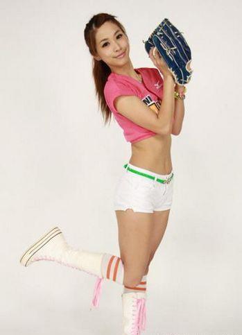 台湾//7棒球女郎...