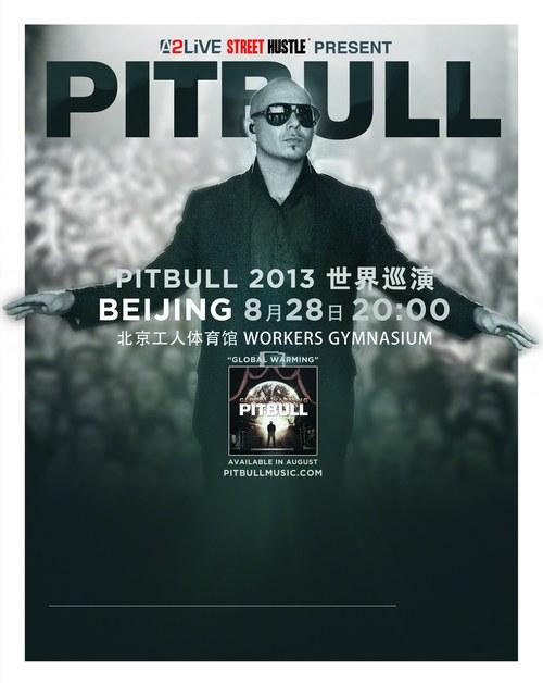 pitbull演唱会_八月朝圣电音传奇嘻哈天王Pitbull中国首开唱-搜狐音乐