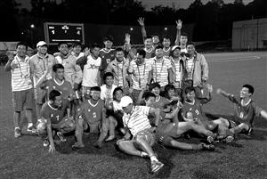中国大运男足队 代表中国足球未来