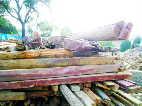 这些木质构件承载了多少厚重的历史