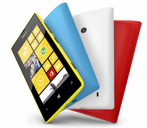 诺基亚Lumia 520市场份额翻了一番