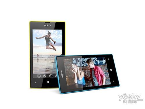 图为:诺基亚Lumia 520T