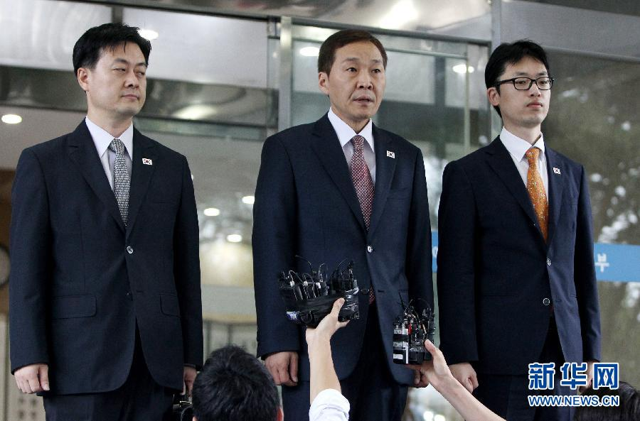 韩朝开城工业园区第三轮工作会谈无果而终(组图)